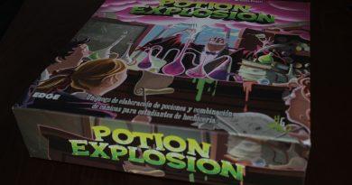 Potion Explosion, juego de mesa con canicas