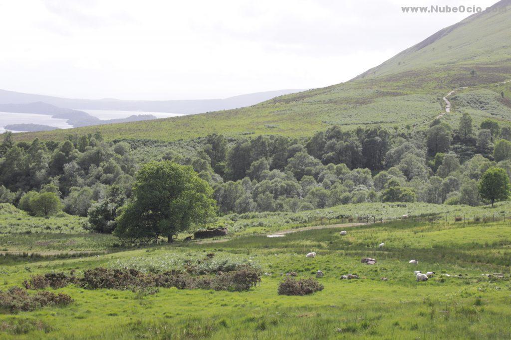 Drymen a Balmaha y Loch Lomond en West Highland Way