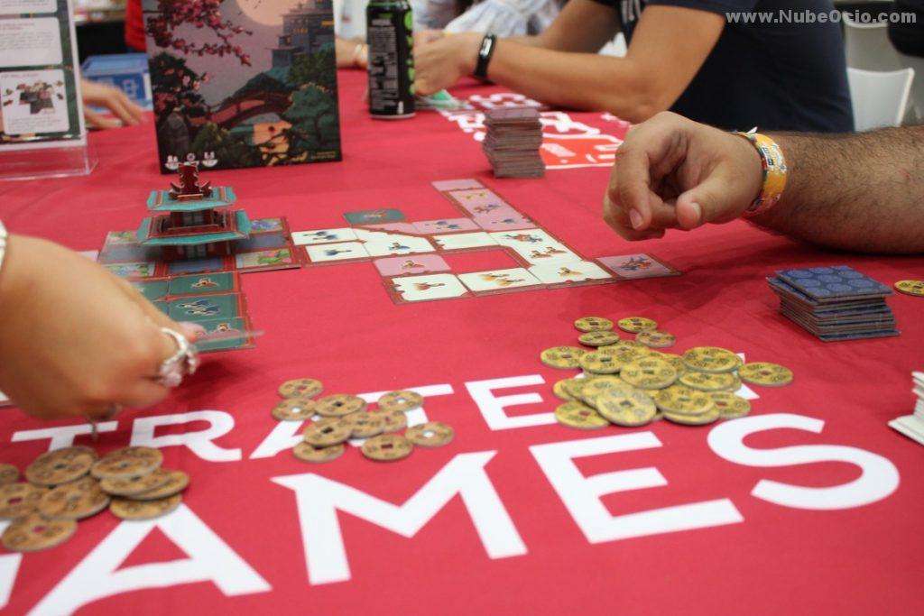 Partida juego de mesa Forbidden City