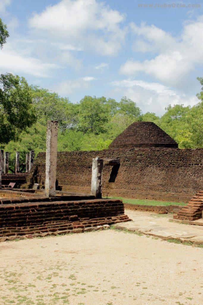 Potgul Vehera Polonnaruwa Sri Lanka
