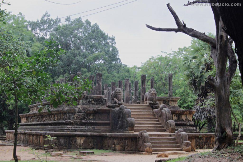 Palacio Parakgamabahu Polonnaruwa Sri Lanka