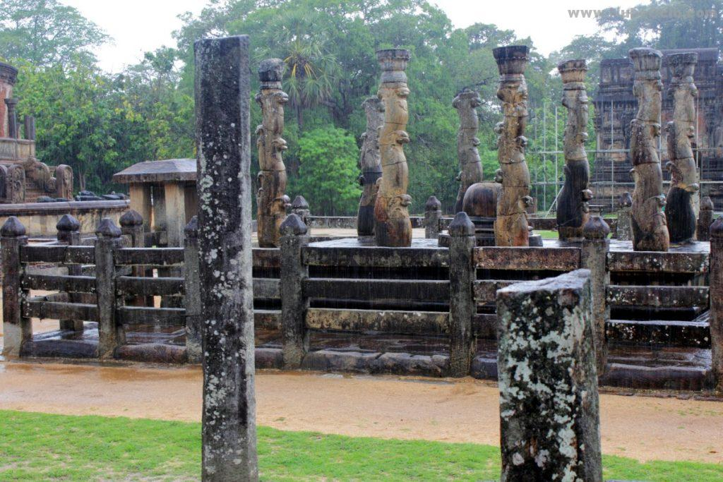 Cuadrilátero Sagrado Polonnaruwa Sri Lanka