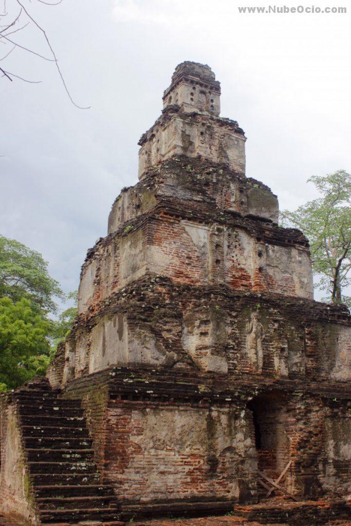Satmahal Prasada Polonnaruwa Sri Lanka